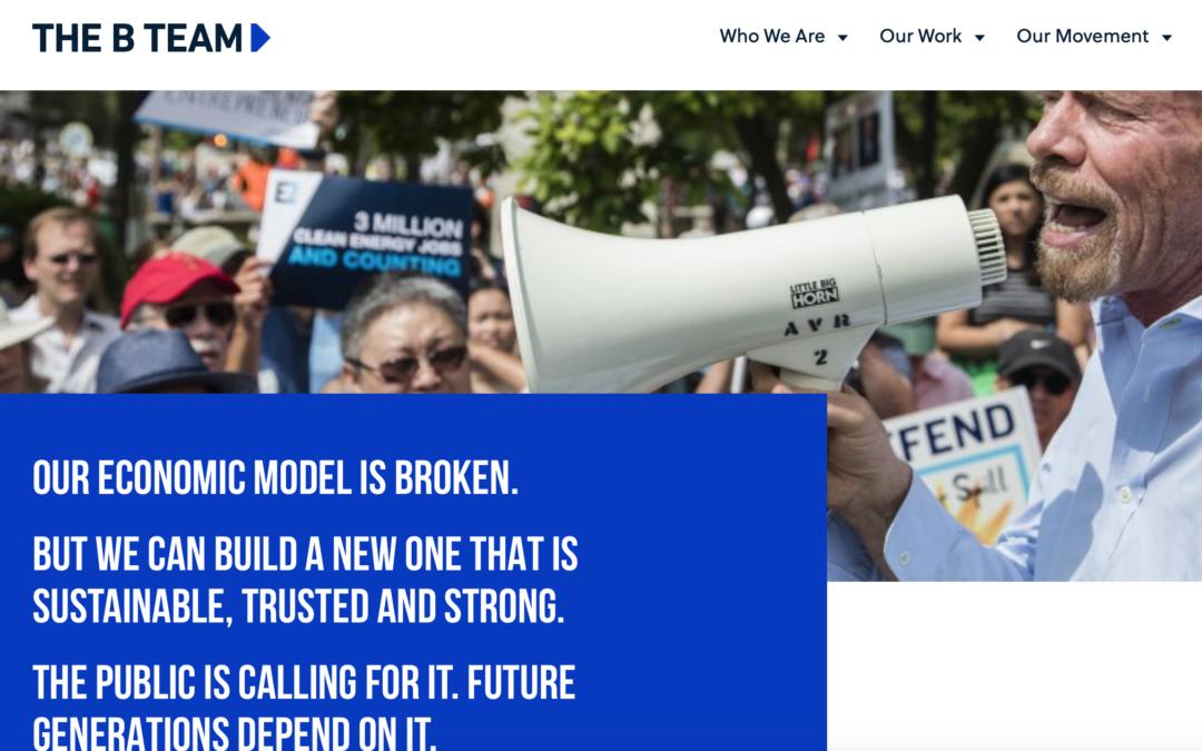 B TEAM – New Report: A Net-Zero Economy Requires Radical Collaboration